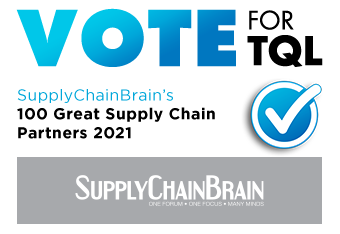 Nominate TQL as one of SupplyChainBrain's 100 Great Supply Chain Partners of 2021